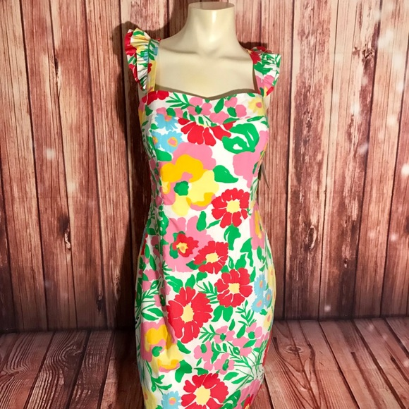 0cea9aa5b7a966 Lilly Pulitzer Sarafina Dress Garden by the Sea. M_5ad5649d9cc7ef6c2d792a20